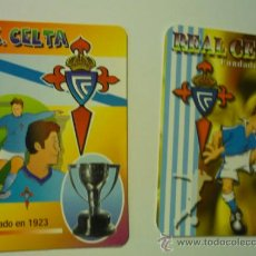 Coleccionismo Calendarios: LOTE CALENDARIOS FUTBOL REAL CELTA 2000-2006. Lote 38115281