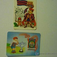 Coleccionismo Calendarios: LOTE CALENDARIOS FUTBOL BARCELONA CF 1987-1995. Lote 38115369