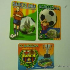Coleccionismo Calendarios: LOTE CALENDARIOS FC.BARCELONA -FUTBOL 2003-05-06. Lote 38115407