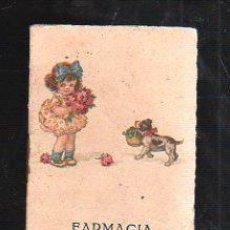 Coleccionismo Calendarios: ALMANAQUE FARMACIA MATUTE, SAN FERNANDO (CADIZ). 1928. VER FOTOS. . Lote 38104655