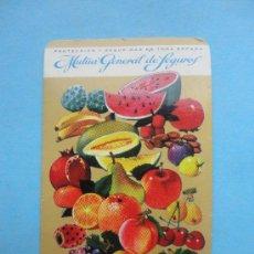 Coleccionismo Calendarios: MUTUA GENERAL DE SEGUROS. 1968. Lote 38246325