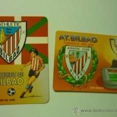 Coleccionismo Calendarios: LOTE CALENDARIOS FUTBOL AT. BILBAO.- 1997-2003. Lote 38300018