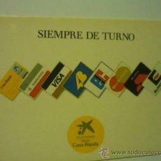 Coleccionismo Calendarios: CALENDARIOS CAJAS Y BANCOS -LA CAIXA 1990. Lote 171430458