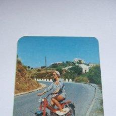 Coleccionismo Calendarios: CALENDARIO DE BOLSILLO AÑO 1972 BICICLETAS Y CICLOMOTORES TORROT. Lote 38348061