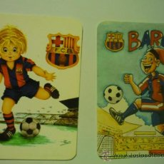 Coleccionismo Calendarios: 1995-1998 LOTE CALENDARIOS FUTBOL F.C.BARCELONA -. Lote 38349776
