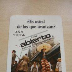 Coleccionismo Calendarios: CALENDARIO DE BOLSILLO FOURNIER AÑO 1974. CAJA DE AHORROS MUNICIPAL DE LA CIUDAD DE VITORIA. Lote 38361013
