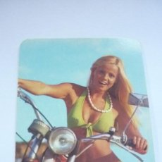 Coleccionismo Calendarios: CALENDARIO DE BOLSILLO AÑO 1975.MOTOS MONTESA. Lote 38387093