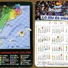 Coleccionismo Calendarios: CALENDARIOS BOLSILLO - CATALUNYA 2003. Lote 39811008