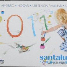 Coleccionismo Calendarios: (11)CALENDARIO DE BOLSILLO,SANTALUCIA,AÑO 2011,CONSERVACION: . Lote 38628920
