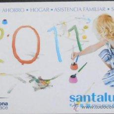 Coleccionismo Calendarios: (11)CALENDARIO DE BOLSILLO,SANTALUCIA,AÑO 2011,CONSERVACION: . Lote 38629391