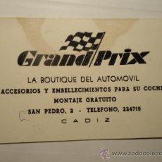 Coleccionismo Calendarios: PR- ANTIGUO CALENDARIO DE BOLSILLO ALMANAQUE - 1970 GRAND PRIX AUTOMOBIL MANCHA. Lote 38835378