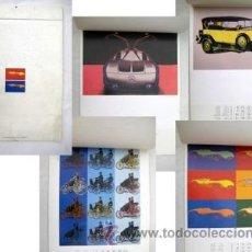 Coleccionismo Calendarios: EIN DAIMLER - BENZ KALENDER FÜR DAS JAHR 1989. ANDY WARHOL CARS.. Lote 38916247