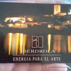 Coleccionismo Calendarios: CALENDARIO 1993 IBERDROLA ENERGIA PARA ARTE . Lote 39020665