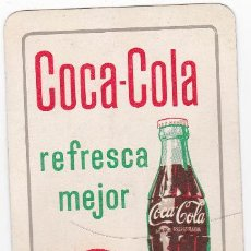 Coleccionismo Calendarios: CALENDARIO FOURNIER COCA COLA, 1962.. Lote 39073114