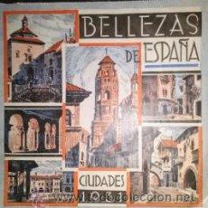 Coleccionismo Calendarios: BONITO CALENDARIO PUBLICITARIO BELLEZAS DE ESPAÑA CIUDADES 1931 SANTANDER. Lote 39345869