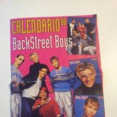 Coleccionismo Calendarios: CALENDARIO - POSTER BACKSTREET BOYS SUPER POP AÑO 1998 (VARIAS PÁGINAS). Lote 81950812