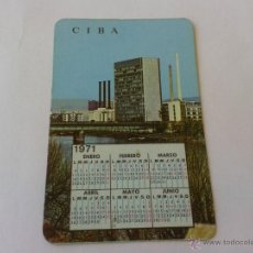 Coleccionismo Calendarios: CALENDARIO 1970 CIBALGINA. Lote 39479282
