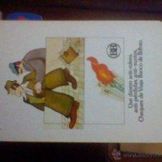 Coleccionismo Calendarios: FOURNIER CALENDARIO 1979 CHEQUES DE VIAJE BANCO BILBAO . Lote 39480152