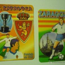 Coleccionismo Calendarios: LOTE CALENDARIOS FUTBOL REAL ZARAGOZA 2000-2014. Lote 39558440