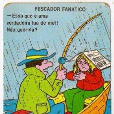 Coleccionismo Calendarios: -51729 CALENDARIO HUMOR PESCADOR, AÑO 1989, CON PUBLICIDAD, EXTRANJERO. Lote 39583609
