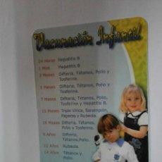 Coleccionismo Calendarios: CALENDARIO VACUNACION INFANTIL 2003 CAL-5777. Lote 39645653