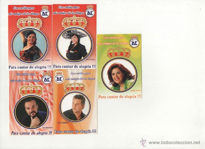 LOTE 5 CALENDARIOS PUBLICITARIOS 2008 (Coleccionismo - Calendarios)