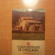 Coleccionismo Calendarios: CALENDARIO CAIXA D`ESTALVIS DE CATALUNYA LA CAIXA DE TOTS 1985. Lote 39840174