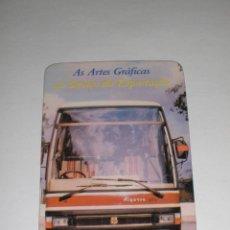 Coleccionismo Calendarios: CALENDARIO PORTUGAL 1986 - AUTOBUS. Lote 39883997