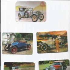 Coleccionismo Calendarios: 5 CALENDARIOS DE COCHES ANTIGÜOS. Lote 39924103