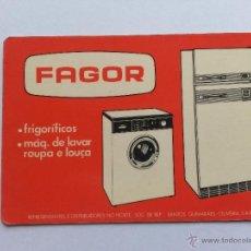 Coleccionismo Calendarios: CALENDARIO FAGOR PORTUGAL 1983. Lote 40028771