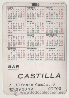 Coleccionismo Calendarios: Calendario 1985 - Foto 2 - 40027091