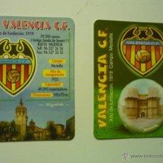 Coleccionismo Calendarios: LOTE CALENDARIOS FUTBOL VALENCIA 2001-2003. Lote 40078237