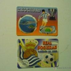 Coleccionismo Calendarios: LOTE CALENDARIOS FUTBOL REAL SOCIEDAD 1999-2006. Lote 40078391