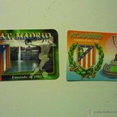 Coleccionismo Calendarios: LOTE CALENDARIOS AT.MADRID.-FUTBOL 2003-2007. Lote 40078427