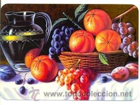 11-11EGC76. CALENDARIO PINTURA. FRUTAS (Coleccionismo - Calendarios)
