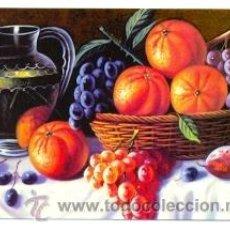 Coleccionismo Calendarios: 11-11EGC76. CALENDARIO PINTURA. FRUTAS. Lote 40083999