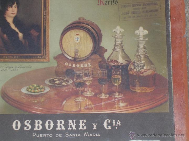 Coleccionismo Calendarios: CALENDARIO DE PARED OSBORNE 1942 DE CARTON - CARTEL - Foto 4 - 40118756