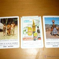 Coleccionismo Calendarios: 3 CALENDARIOS FOURNIER AÑOS 64 85 84 CARBONELL Y MISIONES. Lote 40182145