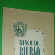 Coleccionismo Calendarios: BANCO DE BILBAO. AÑO 1954. CALENDARIO DE PARED ILUSTRADO POR OÑATIVIA. A ESTRENAR. Lote 40267200
