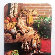 Coleccionismo Calendarios: CALENDARIO BAR 1989 TEMA CAZA. Lote 89047192