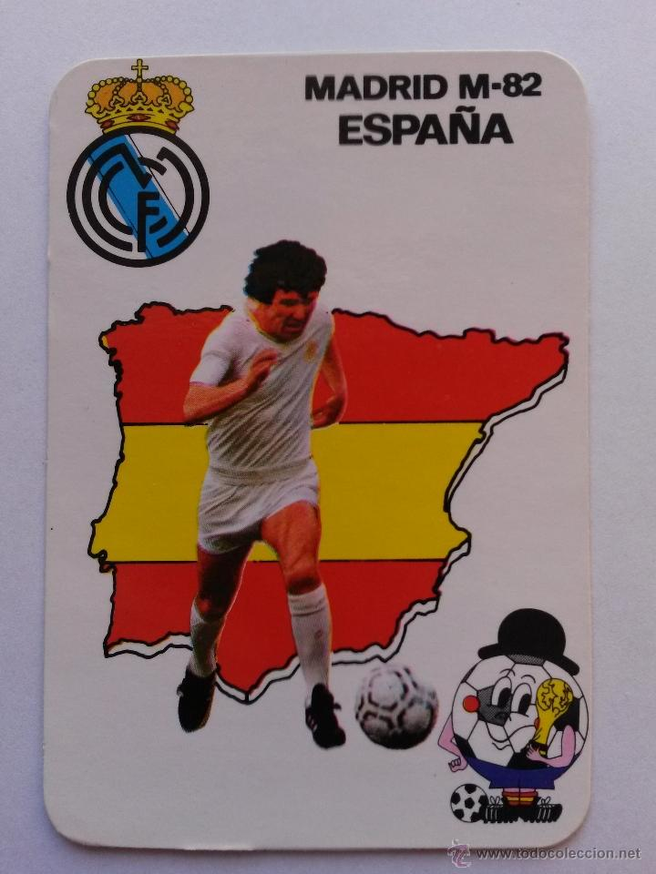 Calendario Del Real.Calendario Del Real Madrid Mundial 82 De 1982