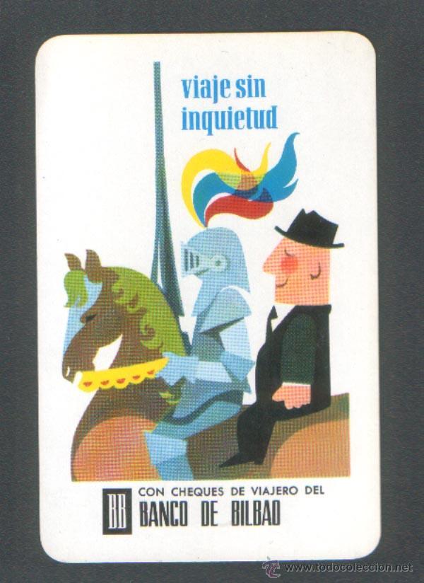 .1 CALENDARIO H. FOURNIER ** BANCO DE BILBAO ** - AÑO 1968 (Coleccionismo - Calendarios)