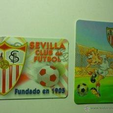 Coleccionismo Calendarios: LOTE CALENDARIOS FUTBOL SEVILLA .-1999-2002. Lote 40459077