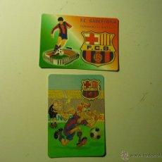 Coleccionismo Calendarios: LOTE CALENDARIOS FUTBOL F.C.BARCELONA 2002-2004. Lote 40461907