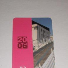 Coleccionismo Calendarios: CALENDARIO 2006 - UNIVERSIDAD DEL PAIS VASCO. Lote 40548427