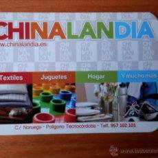 Collezionismo Calendari: CALENDARIO DE BOLSILLO CHINALANDIA 2011 - DIVERSOS AUTORES. Lote 37308079