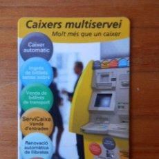 Collezionismo Calendari: CALENDARIO DE BOLSILLO CAIXERS MULTISERVEI 2004 - DIVERSOS AUTORS. Lote 37308885