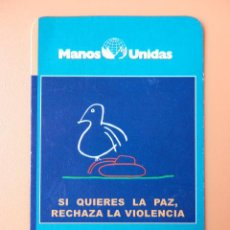 Collezionismo Calendari: CALENDARIO DE BOLSILLO MANOS UNIDAS 2002 - DIVERSOS AUTORES. Lote 37482704