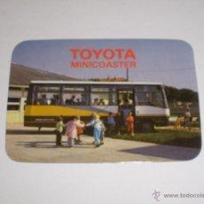 Coleccionismo Calendarios: CALENDARIO PORTUGAL 1987 - AUTOBUS TOYOTA MINICOASTER. PUBLICIDAD CONCESIONARIO. Lote 40651750
