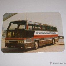 Coleccionismo Calendarios: CALENDARIO PORTUGAL 1987 - AUTOBUS. Lote 41294175